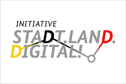 Logo der Initiative Stadt.Land.Digital