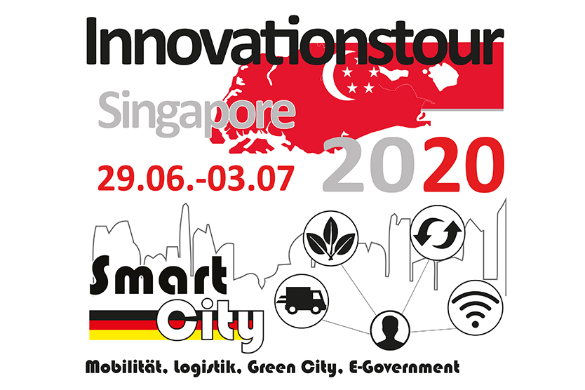 Logo des FörderprogrammsInnovationstour Singapore