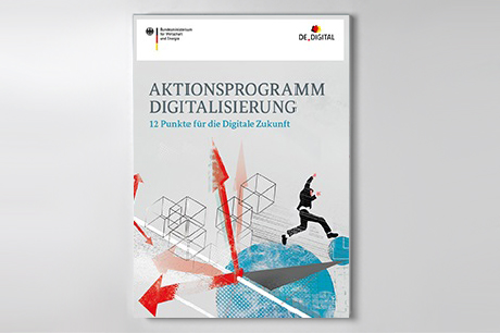 Cover der Publikation Aktionsprogramm Digitalisierung