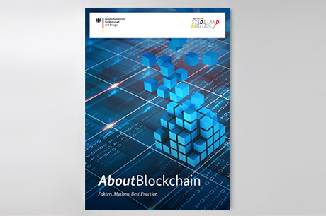 Cover der Publikation About Blockchain
