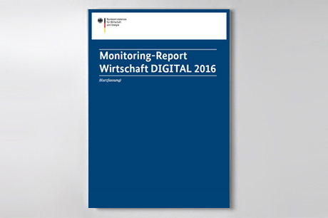 Cover der Publikation Monitoring-Report Wirtschaft DIGITAL 2016