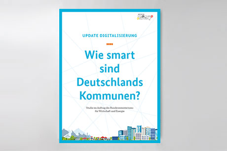 "Cover der Studie ""Update Digitalisierung"""