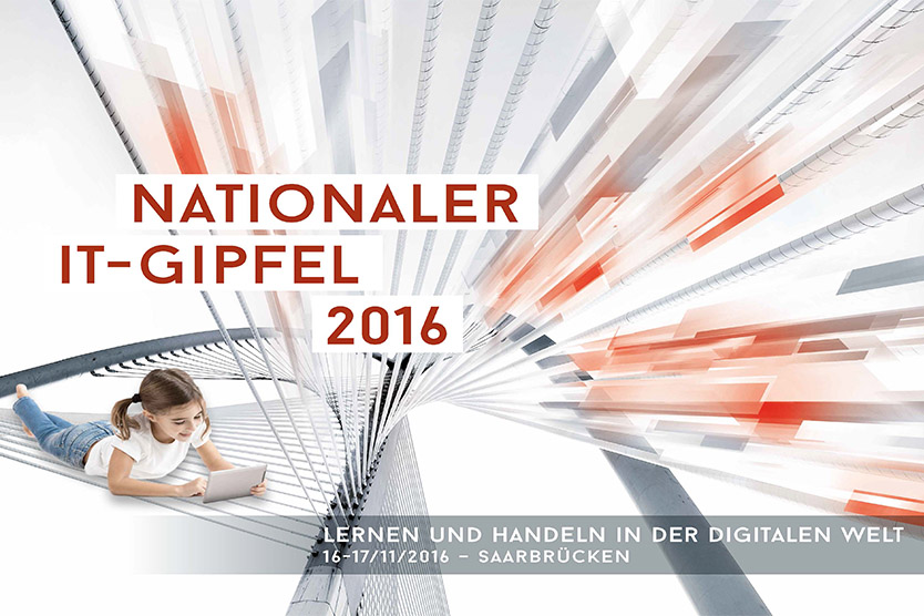 10. Nationaler IT-Gipfel 2016; Quelle: BMWi