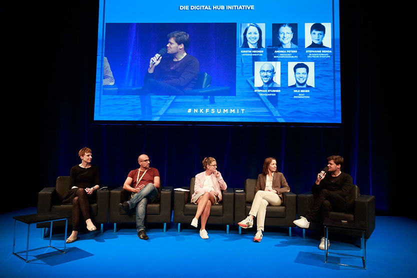 Panel-Diskussion Digital Hub Initiative