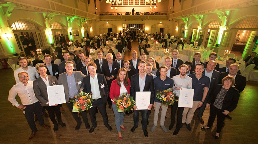 Gruppenbild: Gewinner Digital Logistics Award 2017