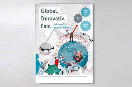 "Publikationscover ""Global. Innovativ. Fair."""