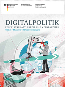 Cover der Publikation Digitalpolitik