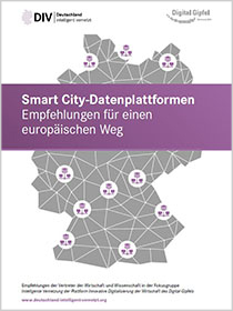 "Cover der Publikation ""Smart City-Datenplattformen"""
