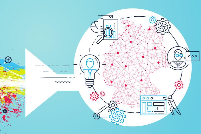 Symbolbild/ Sharepic zum Connecting the dots 2020