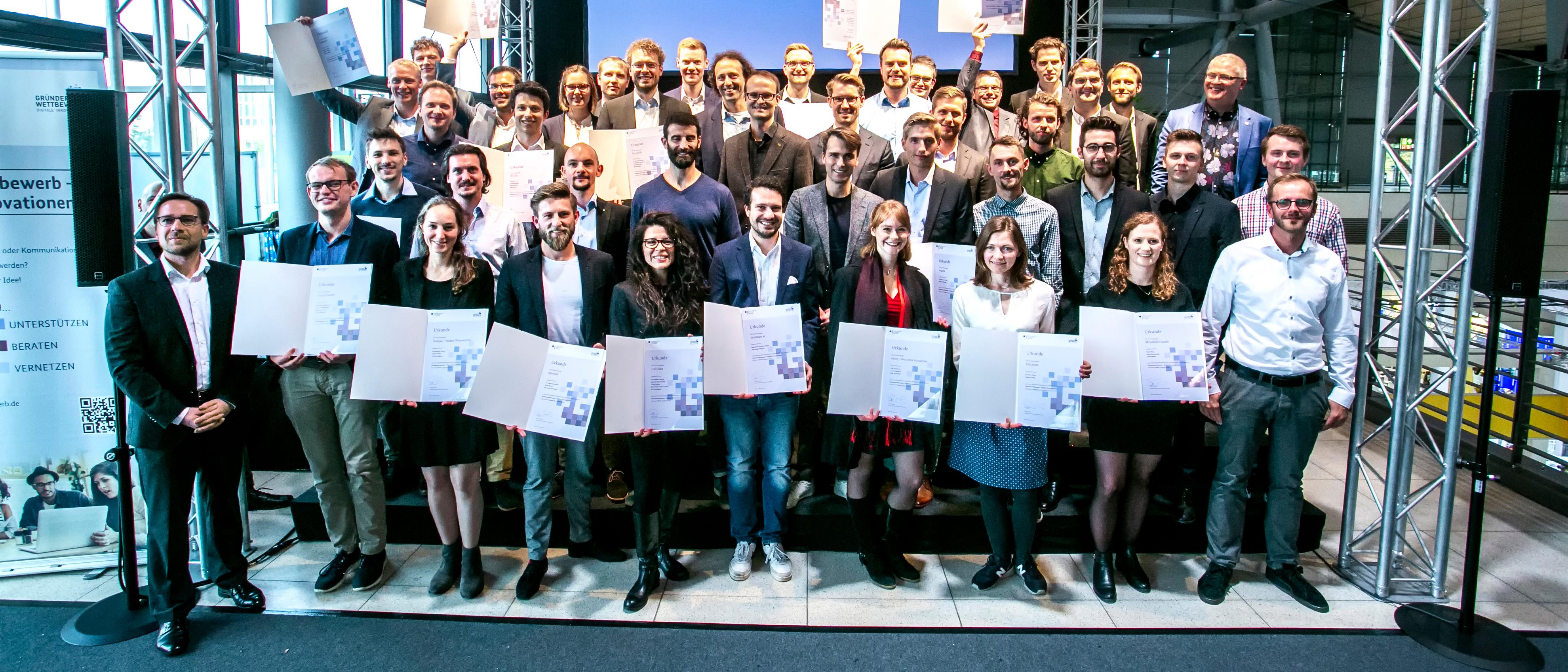Dieses Bild zeigt das Header-Foto des Newsletters des Gründerwettbewerb - Digitale Innovationen