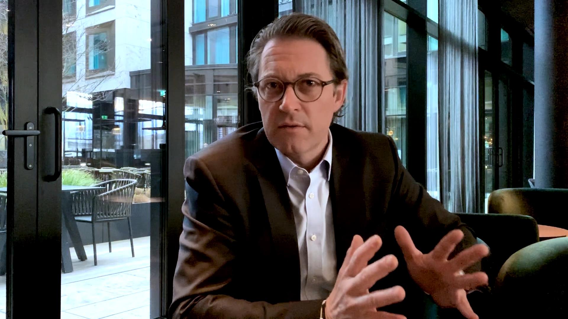 Standbild Digital-Gipfel, Andreas Scheuer