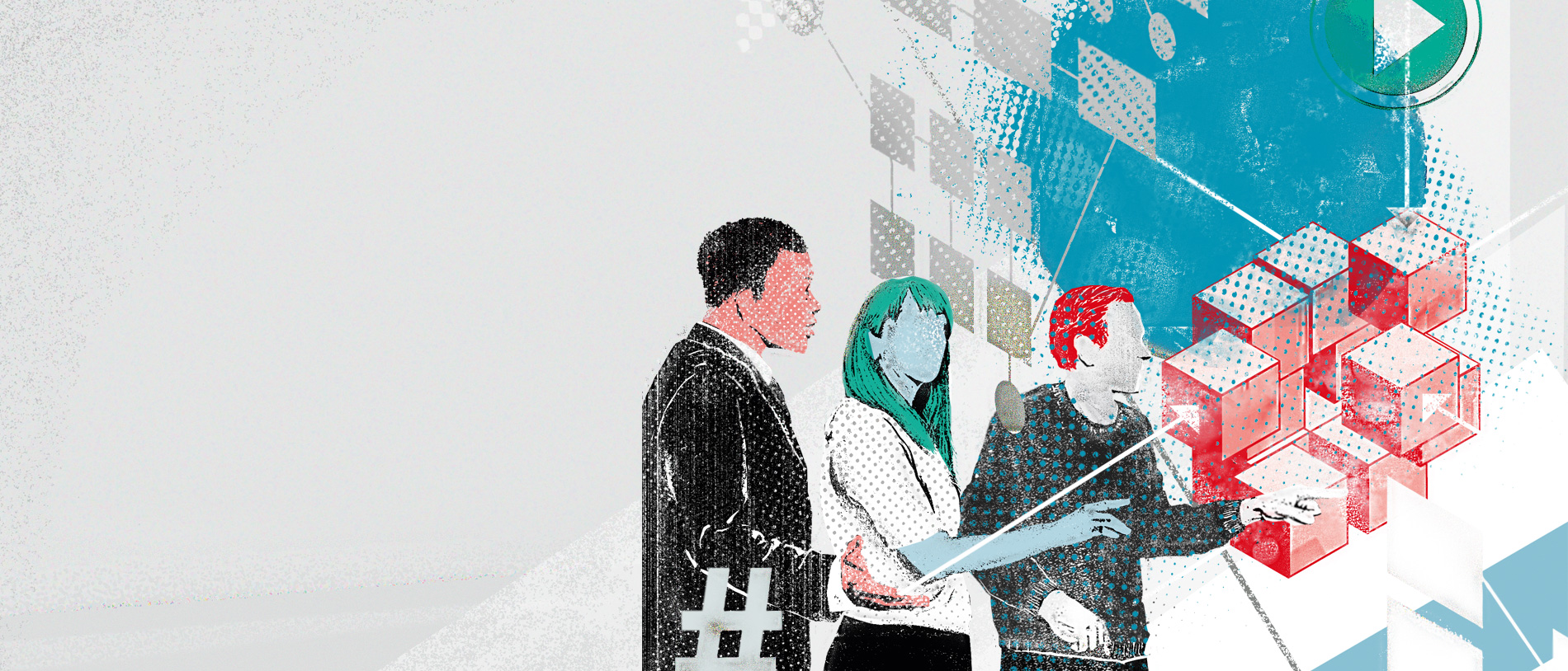 "Cover of the ""White Paper on Digital Platforms""; source: BMWi / Herr Müller"