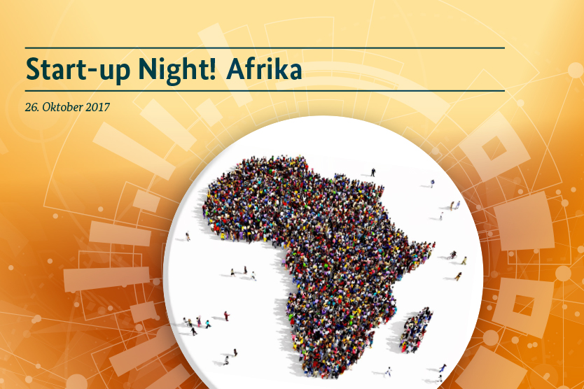 Keyvisual Start-up Night! Africa
