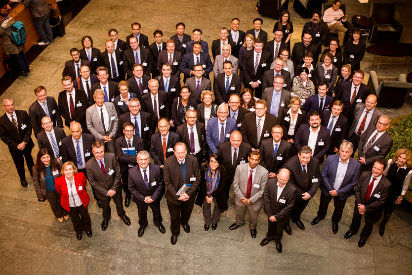 Group picture: experts attending the pre-G20 standardisation conference