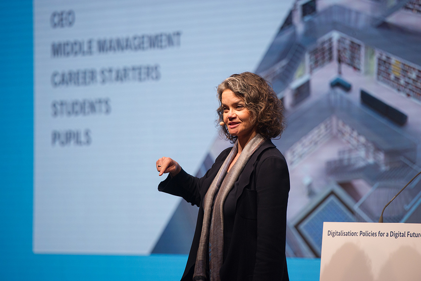 Claudia Nemat, a member of the board at Deutsche Telekom AG, held a keynote speech which addressed these issues.