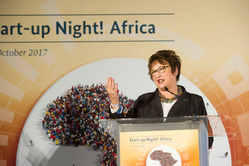 Federal Minister for Economic Affairs and Energy Brigitte Zypries opened the event on 26 October 2017 at the Federal Ministry for Economic Affairs and Energy.