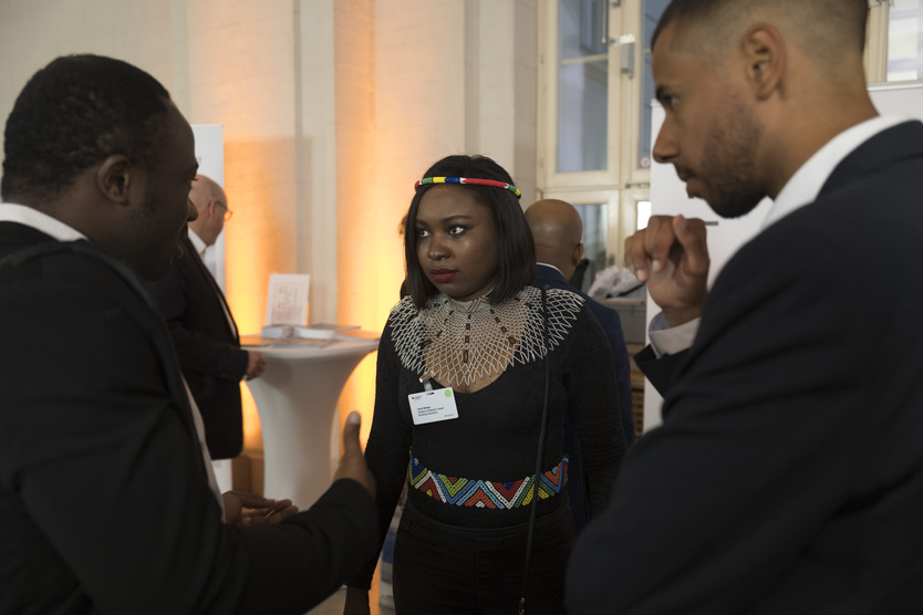 Apart from entrepreneurs pitching their ideas, Start-up Night! Africa also provided a good opportunity for young companies from both Africa and Germany to get to know and connect with established firms.