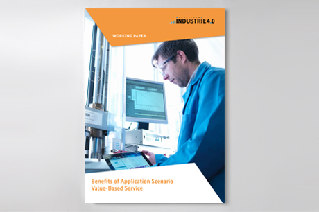 "Cover of publication ""Benefits of Application Scenario Value-Based Service"""