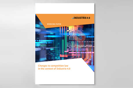 Cover: Changes to competition law in the context of Industrie 4.0
