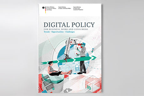 Cover: Digital Policy for Business, Work and Consumers