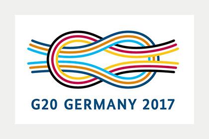 Logo G20 Germany 2017;