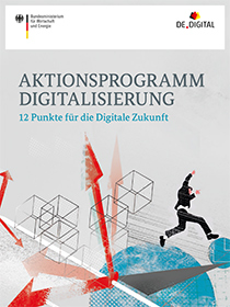 Cover der Publikation Aktionsprogramm Digitalisierung