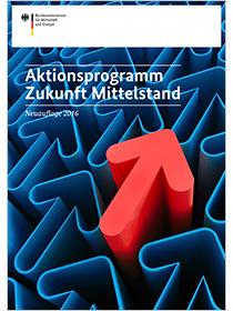 Cover der Publikation Aktionsprogramm Zukunft Mittelstand