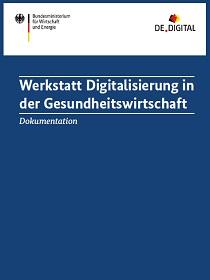 Cover der Publikation Digitalisierung in der Gesundheitswirtschaft