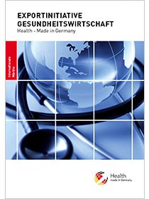 Cover der Publikation Exportinitiative Gesundheitswirtschaft