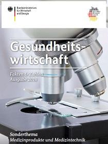 Cover der Publikation Gesundheitswirtschaft; Quelle: BMWi