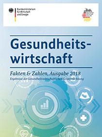 Cover der Publikation Gesundheitswirtschaft - Fakten & Zahlen, Ausgabe 2018