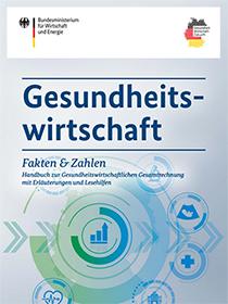 Cover der Publikation Gesundheitswirtschaft - Fakten & Zahlen - Handbuch
