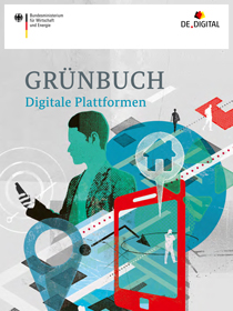 Cover der Publikation Grünbuch Digitale Plattformen