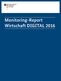 Cover der Publikation Monitoring-Report Wirtschaft DIGITAL 2016