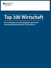 Cover der Publikaiton Studie Top 100