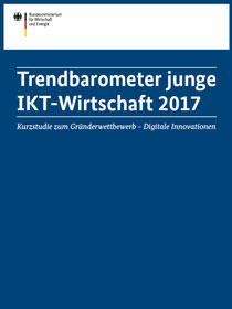 Cover der Publikation Trendbarometer junge IKT-Wirtschaft