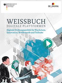 Cover der Publikation Weissbuch Digitale Plattformen