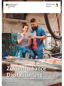 Cover der Publikation Zukunftschance Digitalisierung