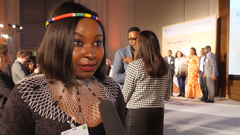 "Standbild aus dem Video ""Start-up Night! Afrika"""